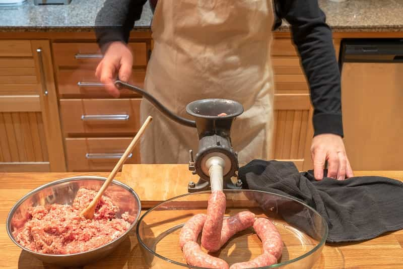 horizontal sausage stuffer