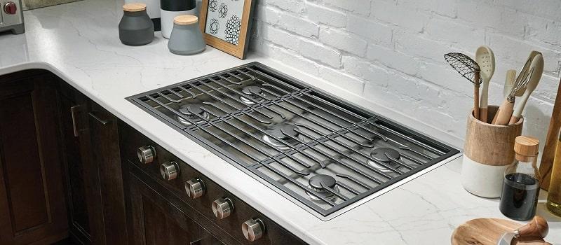 viking gas cooktop
