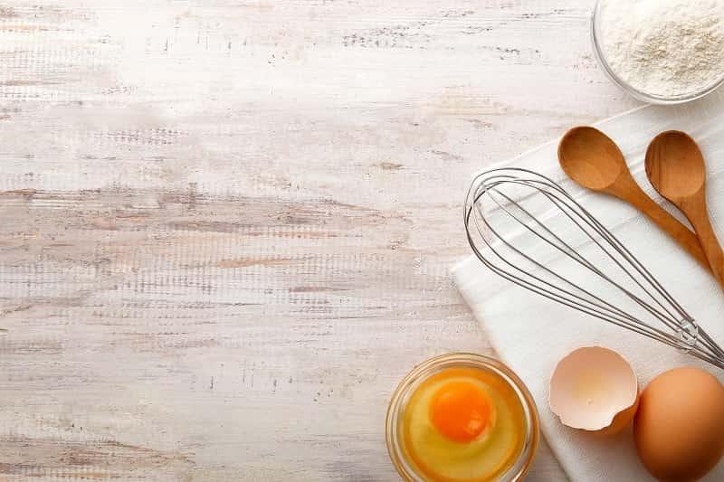 egg yolk substitute for custard