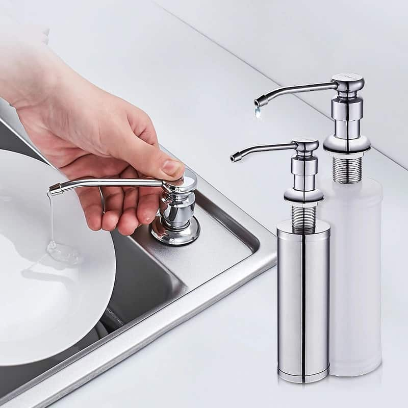 best rust proof kitchen soap dispenser
