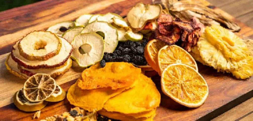 how to dehydrate fruit in oven