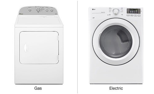 Gas Dryers vs. Electric Dryers