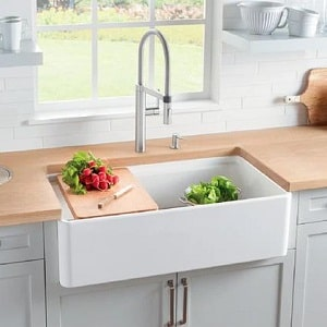 fireclay vintage farmhouse sink