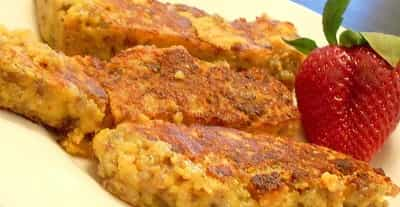 how to cut scrapple