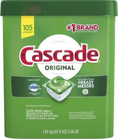 Cascade Dishwasher Pods